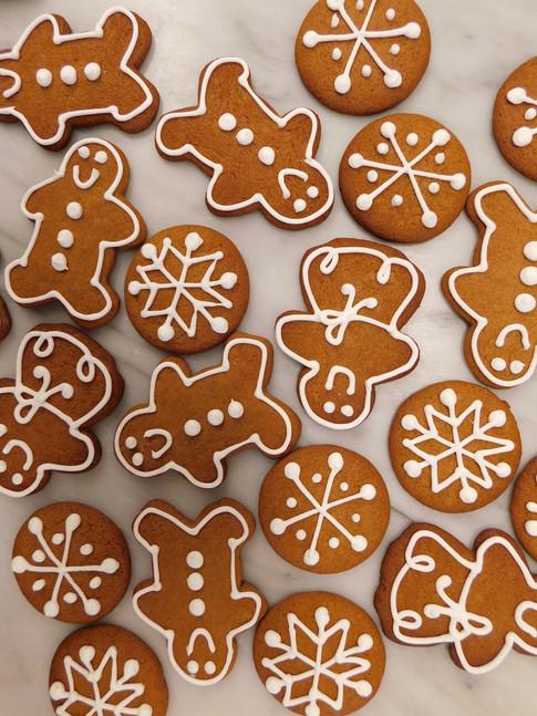 biscuits pain d'épices, fêtes 2021