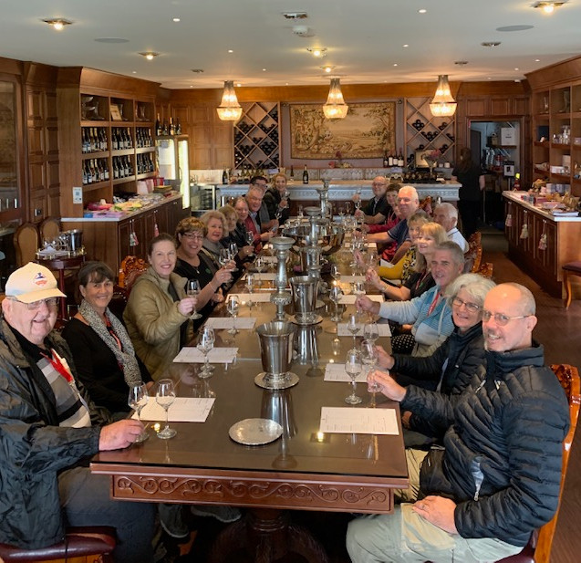 NZ Culinary Cruise - Winery - Group-tabl