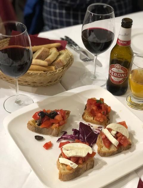 Rome - dinner