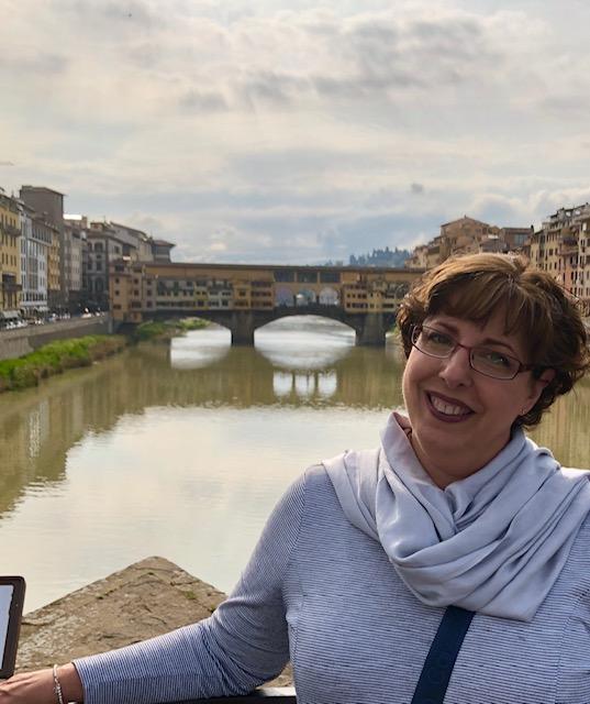 Florence - bridge and me