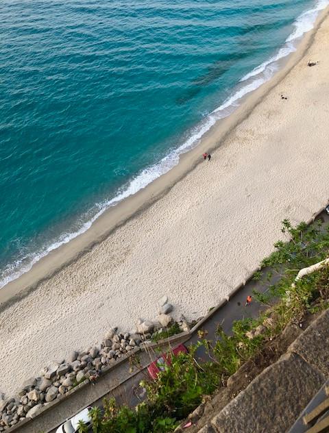 Calabria - Tropea - top of piazza beach