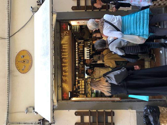 Florence - panini street bar