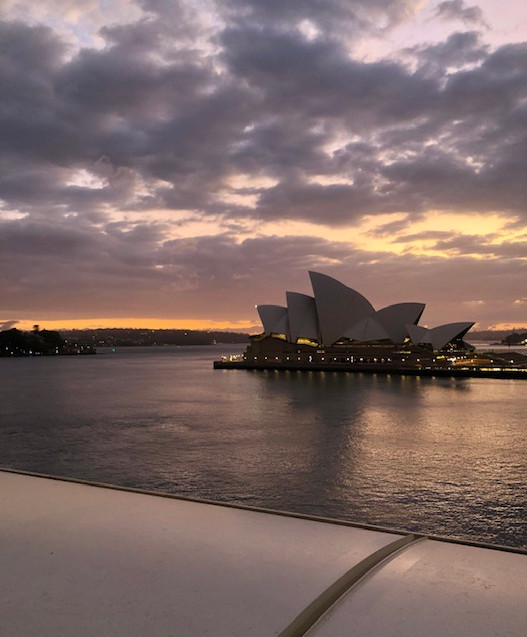 NZ Culinary Cruise - early morn - Sydney