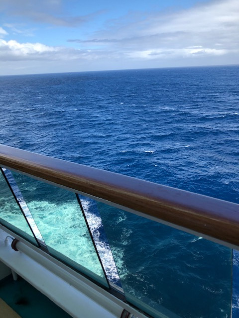 NZ Culinary Cruise - deck view 2