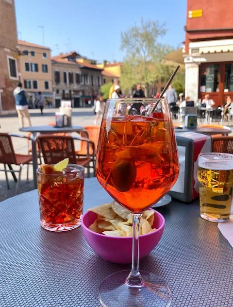 Venice - aperol spritz time