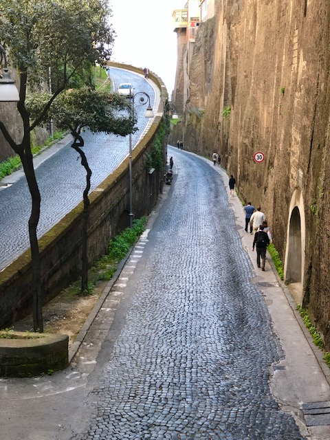 Sorrento - walk way-bridge view