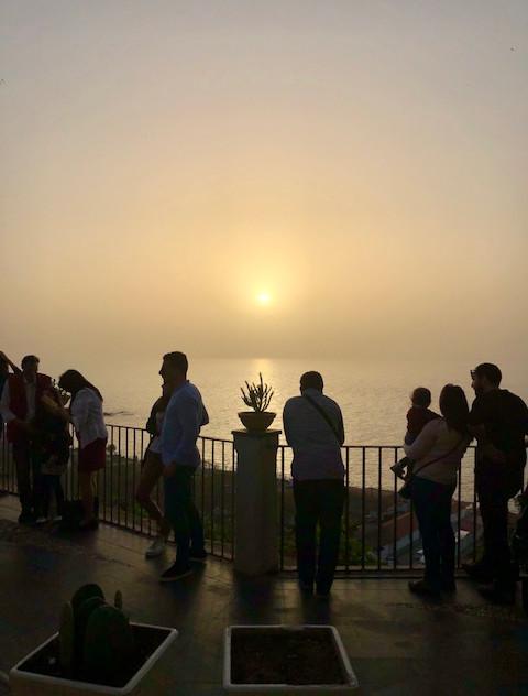 Calabria - Tropea - sunset