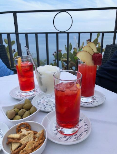 Taormina - drinks + granita