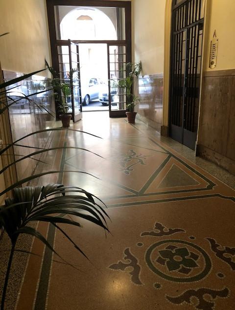 Rome hotel - entrance