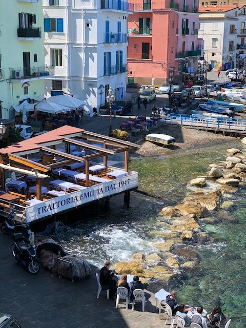 Sorrento - marina area restaurtant