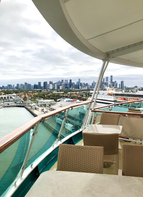NZ Culinary Cruise - deck+Melbourne city