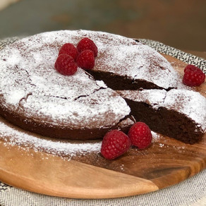 Chocolate and Chickpea Cake