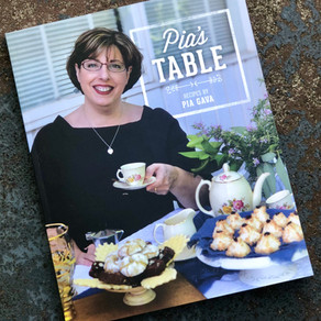 'Pia's Table' Cookbook Launch - 9 September 2018
