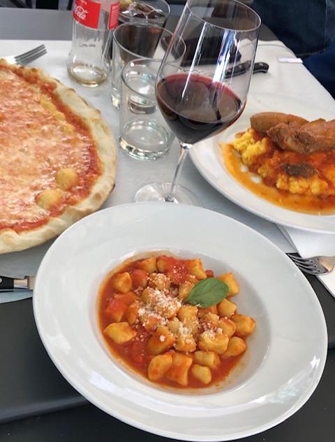 Rome - restaurant lunch