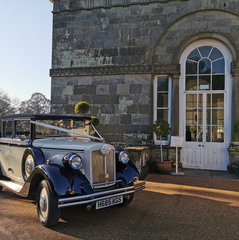 Clarabelle   Prices Wedding Cars   Wedding car hire in Cardiff, Newport, South Wales