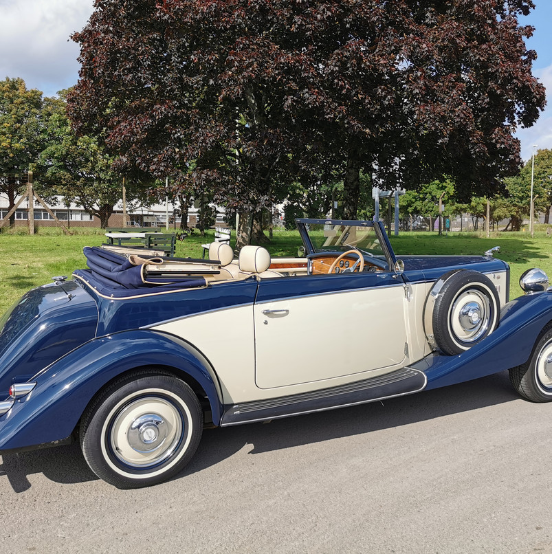 Royal Drophead | Prices Wedding Cars | Wedding car hire in Cardiff, Newport, South Wales