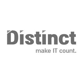 Distinct עיצוב לוגו