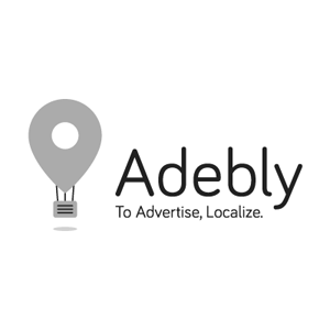 לחץ לצפייה במיתוג המלא | Adebly עיצוב לוגו