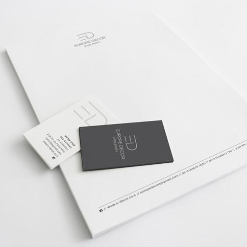 EUROPE DECOR // מיתוג