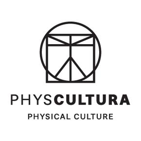 לחץ לצפייה במיתוג המלא | PHYSCULTURA עיצוב לוגו