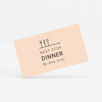 NEXT STOP DINNER // מיתוג