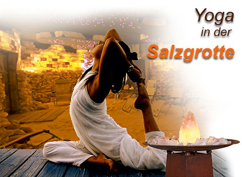 Yoga in der Salzgrotte Rheinzabern