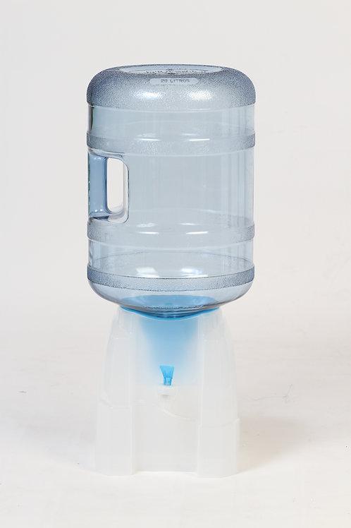 Dispenser Natural Premiato Doble Caudal c/Adaptador Transparente