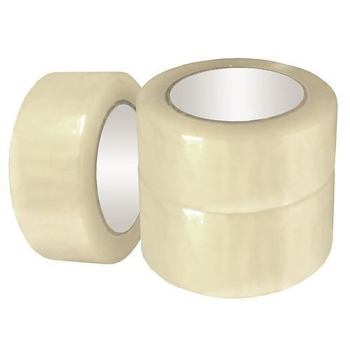 6 x LONG LENGTH PACKING TAPE STRONG - CLEAR 48mm x 66M