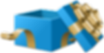 Open_Gift_Box_Blue_Transparent_Clip_Art_