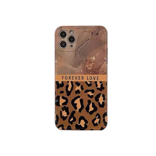 Marble and Leopard Phone Case (Set of Two)