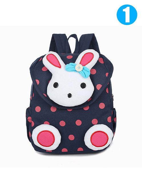 Rabbit Polkadot Girl Backpack