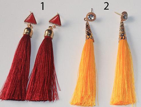 Stud Tassel Earrings