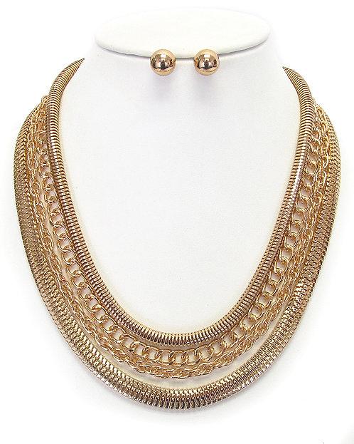 Sundry Layered Necklace Set
