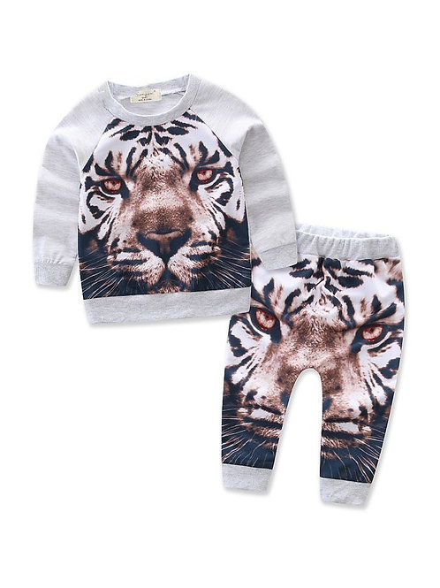 Boy Tiger Sweat-Suit