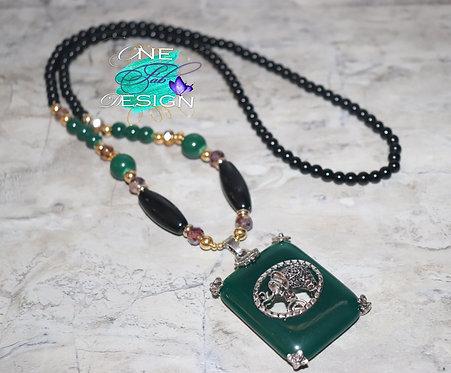 Beaded Elephant Necklace