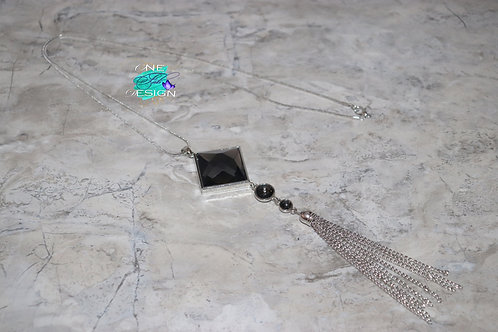 Fashion Pendant with Tassel Design Long Chain