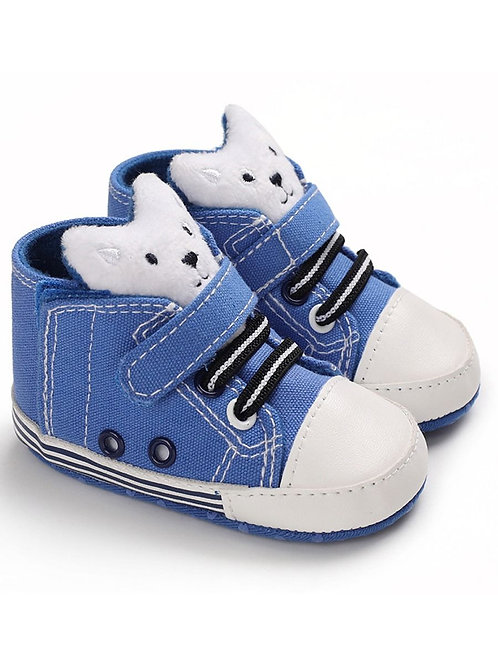 Boys' Teddy Crib Shoes