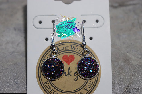 Sparkle Cluster Earrings