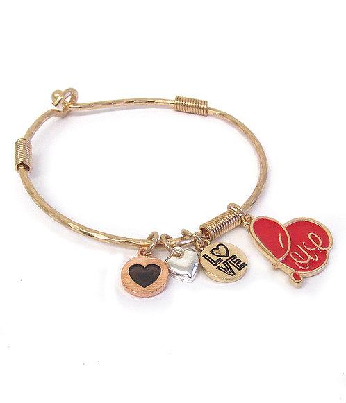 Love Charm Bracelet