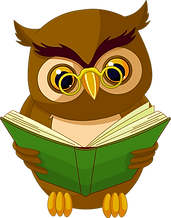 Transparent_Owl_with_Book_PNG_Clipart_Pi