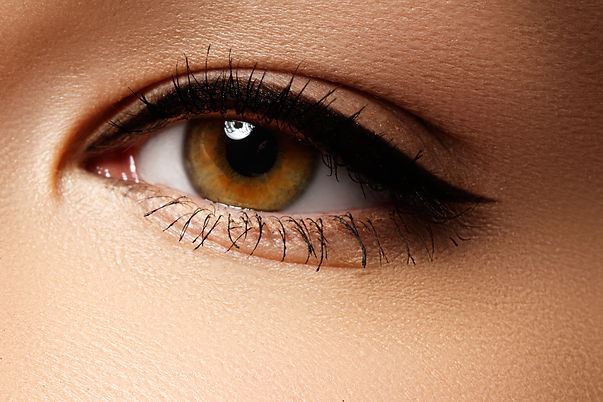 Eye makeup. Beautiful eyes retro style m