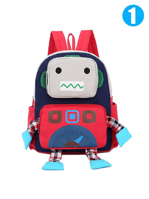 Robot Canvas Backpack