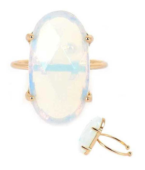Fanciful Neutral Stone Ring