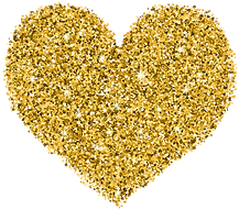 Decorative_Golden_Heart_Transparent_Imag