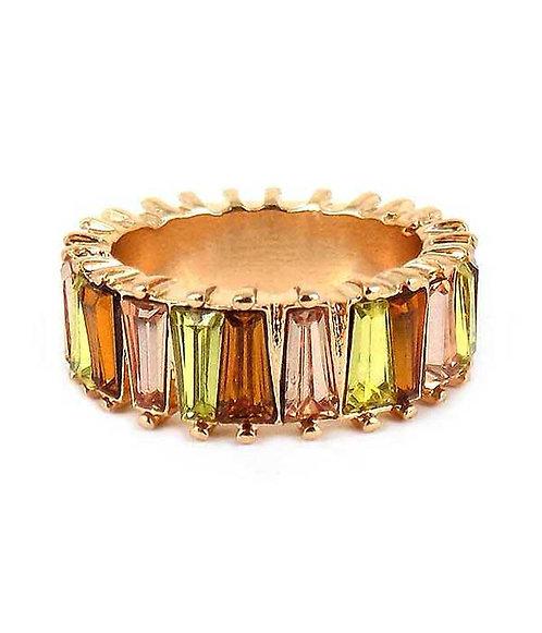 Natty Baguette Ring