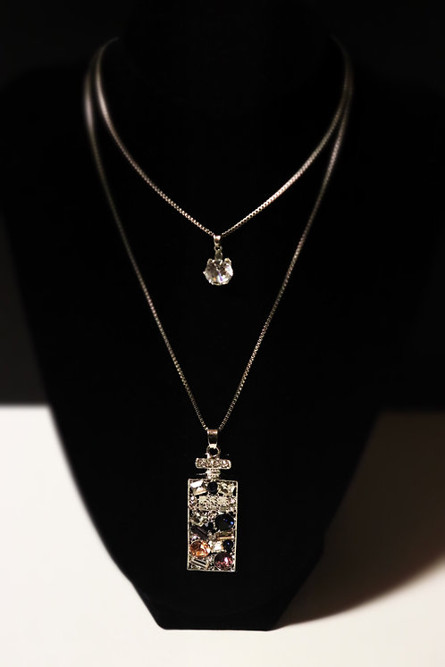 Couture Perfume Bottle Necklace