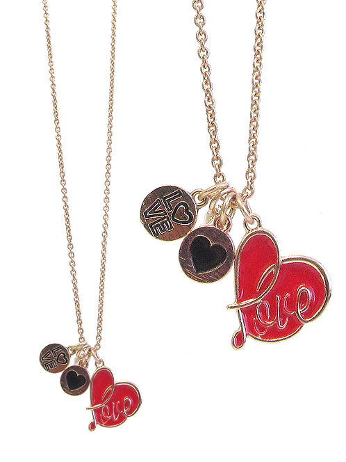 Love Charm Necklaces
