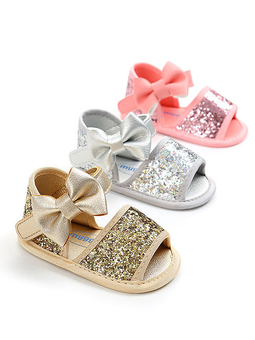 Bow & Glitz Girl Sandals