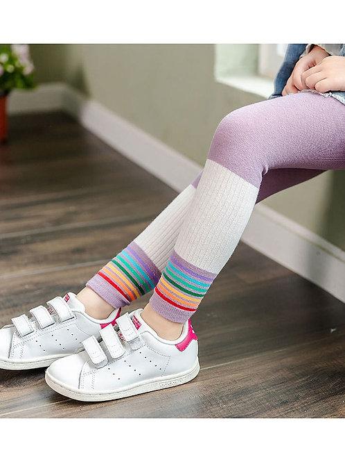 Striped Leggings for Girls
