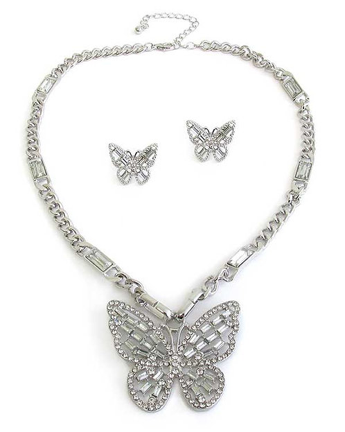 Fashionable Butterfly Necklace